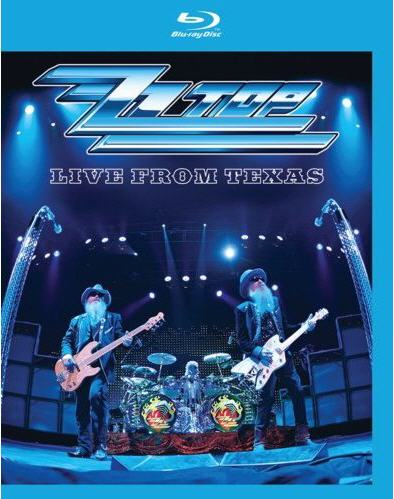 LIVE FROM TEXAS BY ZZ TOP (Blu-Ray)